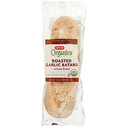 H-E-B Organics Roasted Garlic Bread