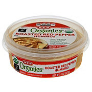 H-E-B Organics Roasted Red Pepper Hummus