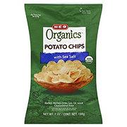 H-E-B Organics Sea Salt Potato Chips