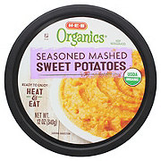 H-E-B Organics Seasoned Mashed Sweet Potatoes