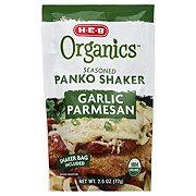 H-E-B Organics Seasoned Panko Shaker Garlic Parmesan