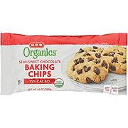 H-E-B Organics Semi-sweet Chocolate Baking Chips 55% Cacao