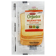 H-E-B Organics Sliced Muenster Cheese