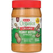H-E-B Organics Smooth No Stir Peanut Butter