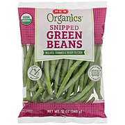 H-E-B Organics Snipped Green Beans