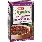 H-E-B Organics Southwest Style Black Bean Soup