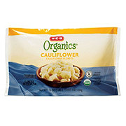 H-E-B Organics Steamable Cauliflower Florets