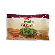 H-E-B Organics Steamable Cut Spinach Leaves