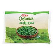 H-E-B Organics Steamable Green Tender Peas