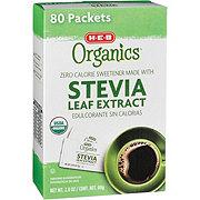 H-E-B Organics Stevia Leaf Extract Packets