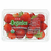 H-E-B Organics Strawberries