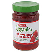H-E-B Organics Strawberry Fruit Spread