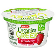 H-E-B Organics Strawberry Greek Yogurt