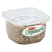 H-E-B Organics Sunflower Seeds Dry Roasted & Unsalted