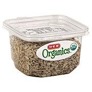 H-E-B Organics Sunflower Seeds, Dry Roasted and Salted