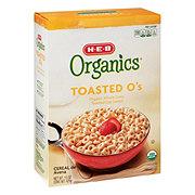 H-E-B Organics Toasted O's Cereal