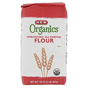 H-E-B Organics Unbleached All Purpose Flour