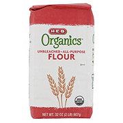 H-E-B Organics Unbleached All Purpose Flour