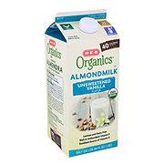 H-E-B Organics Unsweet Vanilla Almond Milk