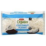 H-E-B Organics Unsweetened Coconut Flakes