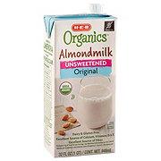 H-E-B Organics Unsweetened Original Almond Milk