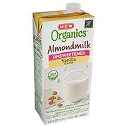 H-E-B Organics Unsweetened Vanilla Almond Milk