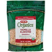 H-E-B Organics Vanilla Almond Granola