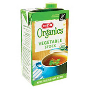 H-E-B Organics Vegetable Stock