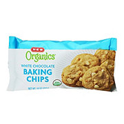 H-E-B Organics White Chocolate Baking Chips