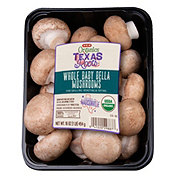 H-E-B Organics Whole Baby Bella Mushrooms