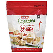 H-E-B Organics Whole Grain Animal Cookies