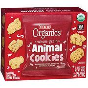 H-E-B Organics Whole Grain Animal Cookies