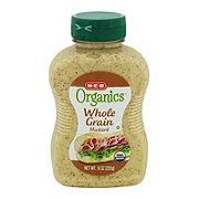 H-E-B Organics Whole Grain Mustard