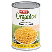 H-E-B Organics Whole Kernel Sweet Corn