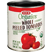 H-E-B Organics Whole Peeled Tomatoes