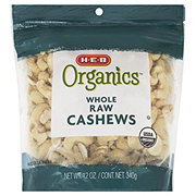 H-E-B Organics Whole Raw Cashews