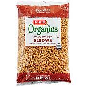 H-E-B Organics Whole Wheat Elbow Macaroni