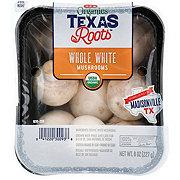 H-E-B Organics Whole White Mushroom