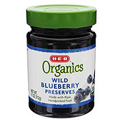 H-E-B Organics Wild Blueberry Preserves