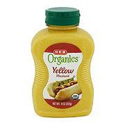 H-E-B Organics Yellow Mustard