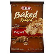 H-E-B Original Baked Multigrain Ridged Crisps