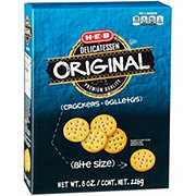 H-E-B Original Entertainer Bite Size Crackers