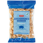 H-E-B Original Flavor Chicharrones Pork Rinds