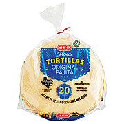 H-E-B Original Flour Tortillas