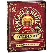 H-E-B Original Pancake & Waffle Mix