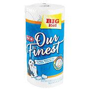 H-E-B Our Finest Full Sheet Big Roll Paper Towels