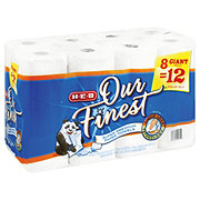 H-E-B Our Finest Full Sheet Giant Roll Paper Towels