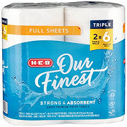 H-E-B Our Finest Full Sheet Huge Roll Paper Towels