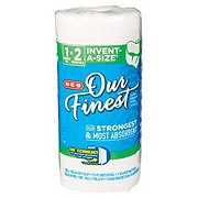 H-E-B Our Finest Invent-a-Size Big Roll Paper Towels