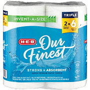 H-E-B Our Finest Invent-a-Size Huge Roll Paper Towels